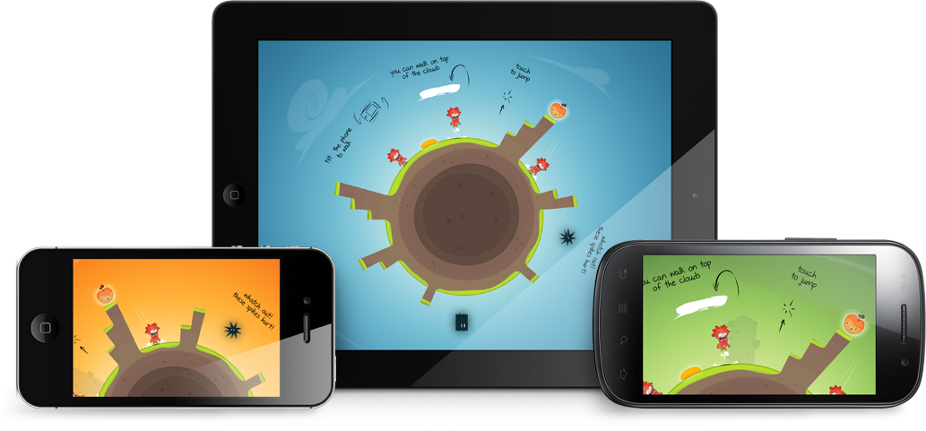 Laland works on these devices: iPhone, iPad, Android